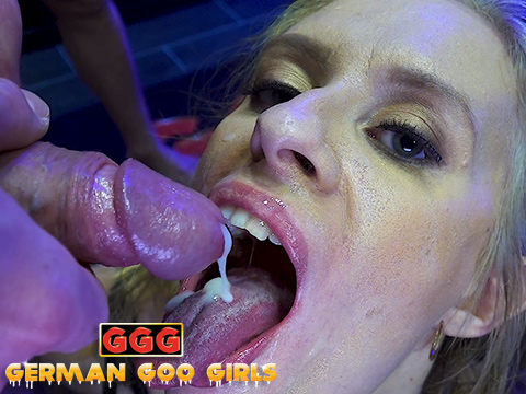 german woman gets fucked in the house and sucks her dick&period